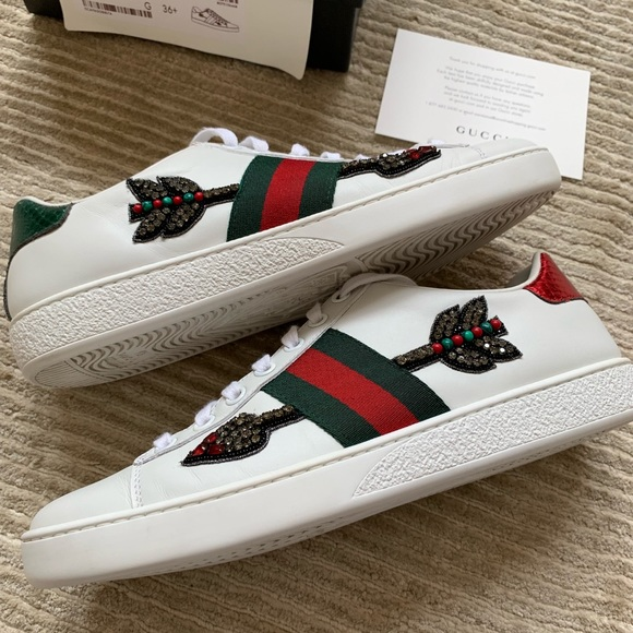 701aa2cc0 Gucci Shoes | Ace Embroidered Sneakers | Poshmark